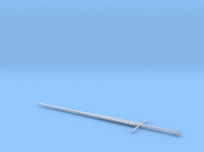1:6 Miniature Ringwraith Sword - LOTR 3d printed