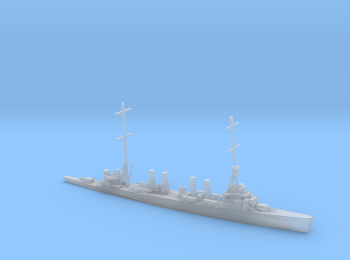 1/2400 Scale USS Omaha CL-4 3d printed