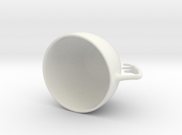 Lotus Koffieleutjes Kop 3d printed