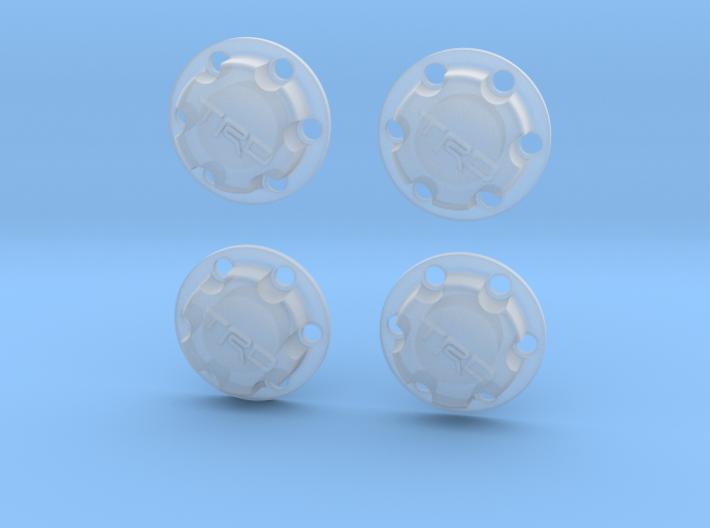 1/10th Scale Toyota TRD Wheel Cap - For MFab 4 Run 3d printed