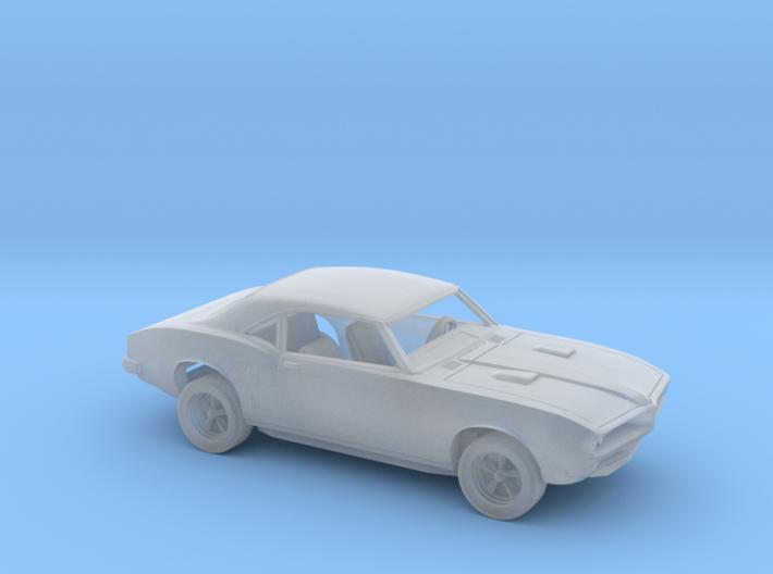 1/87 1967-68 Pontiac Firebird Kit 3d printed
