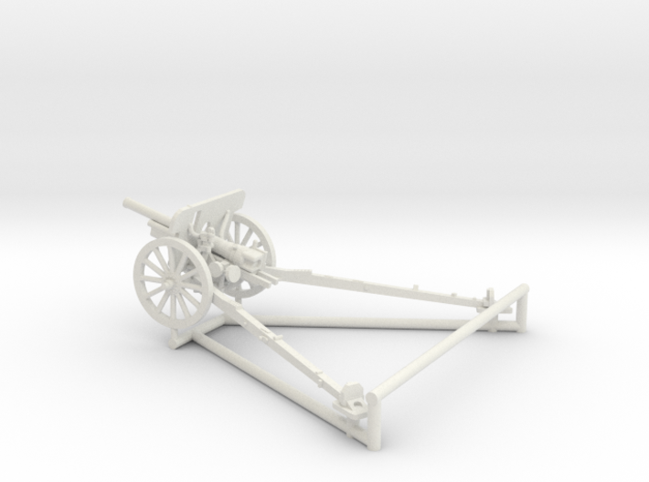 1/56 IJA Type 94 75mm Mountain Gun 3d printed
