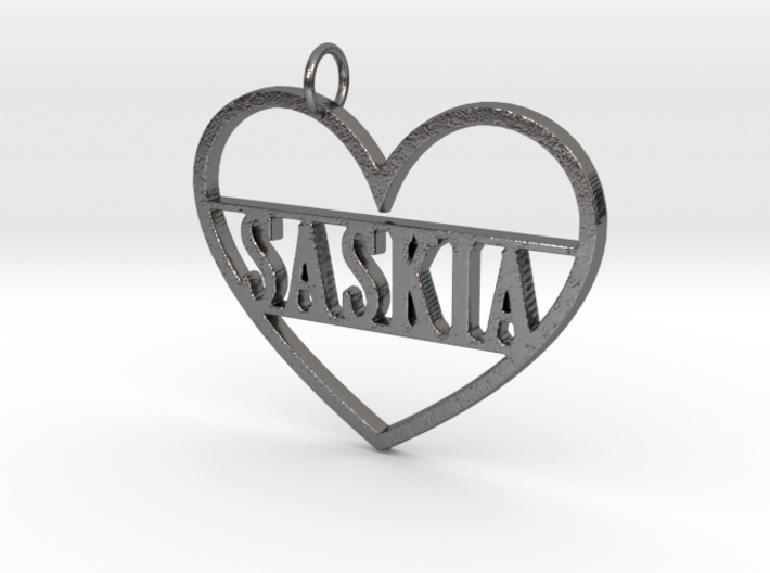 Key Tag with Name 3d printed