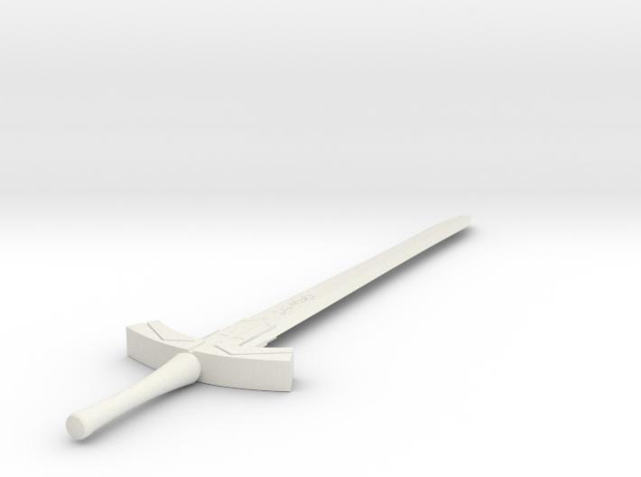 1/3rd Scale Sabers Excalibur 3d printed