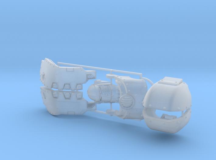 Atlas Pattern Redemptor Kit 1 3d printed