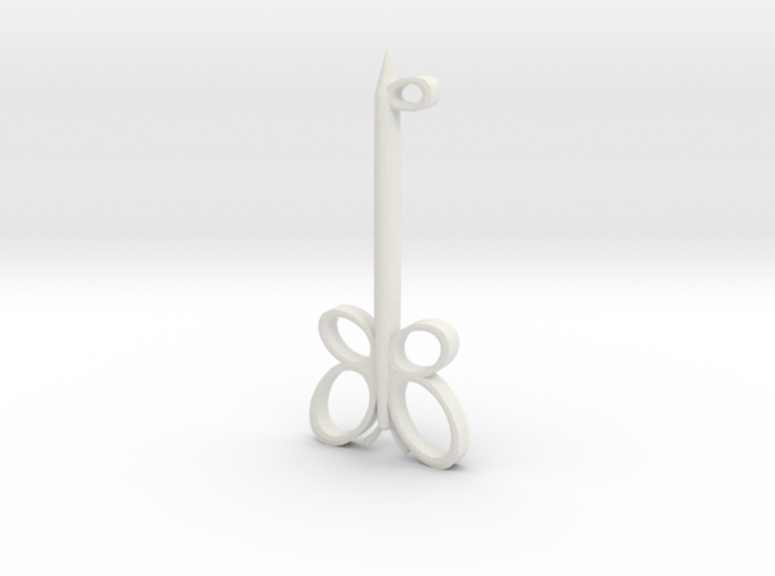 Key of Kindness 3d printed