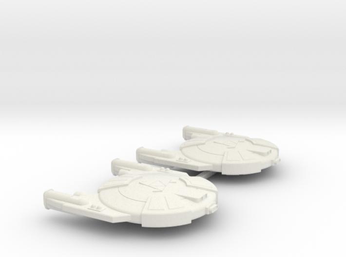 3125 Scale Andromedan Viper Frigates (2) SRZ 3d printed