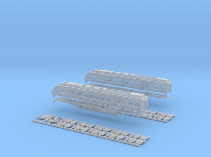 N Scale SMART Train Nippon Sharyo DMU 3d printed