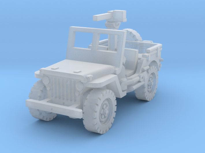 Jeep willys 30 cal (window up) 1/200 3d printed