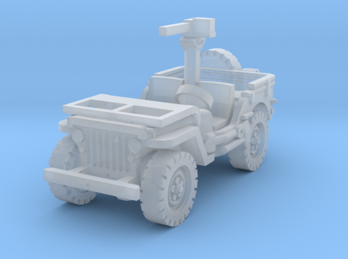 Jeep Willys 30 cal (window down) 1/220 3d printed