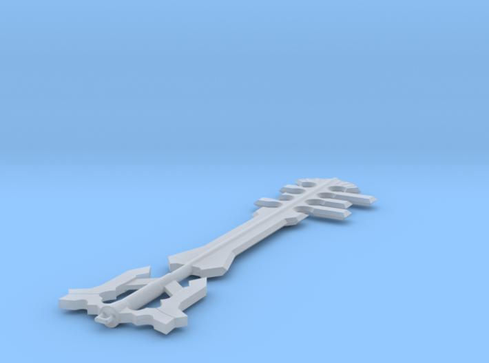 Miniature Ends of the Earth Keyblade - Kingdom Hea 3d printed