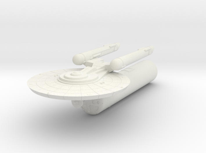 3125 Scale Federation LTT with Carrier Pod WEM 3d printed