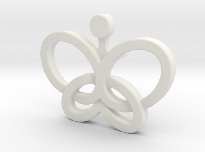 Custom Logo Lapel Pin 3d printed
