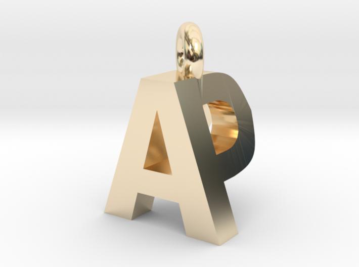 AP pendant top 3d printed