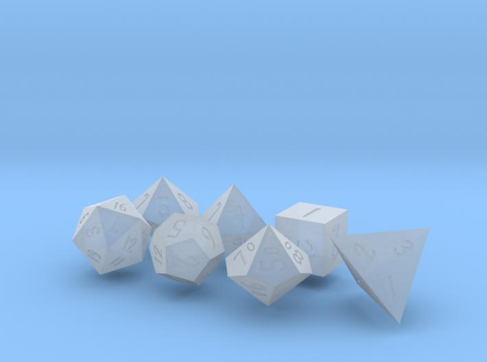 Elizabeths_Dice_Set 3d printed