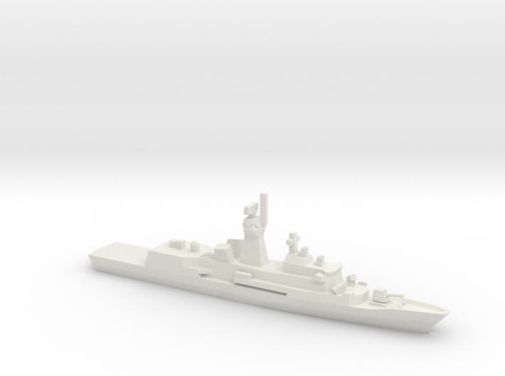 Anzac-class frigate, 1/1250 3d printed