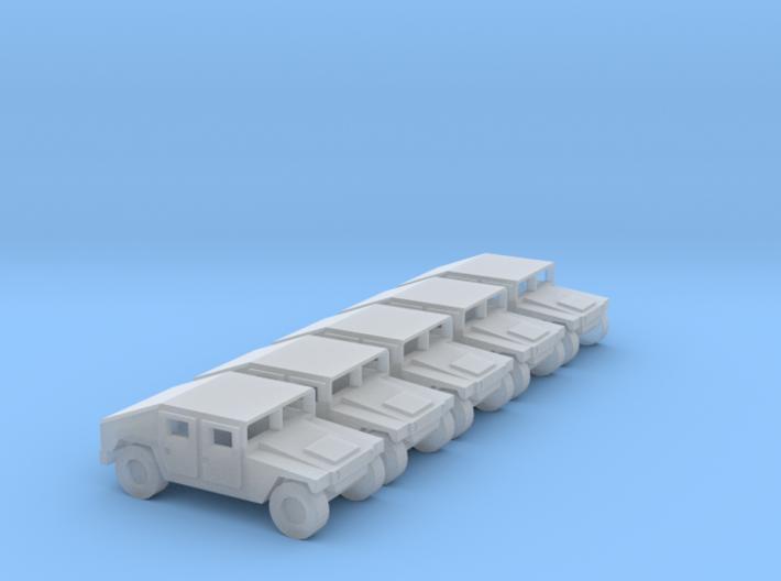 1:144 Humvee M1025 set of 5 3d printed