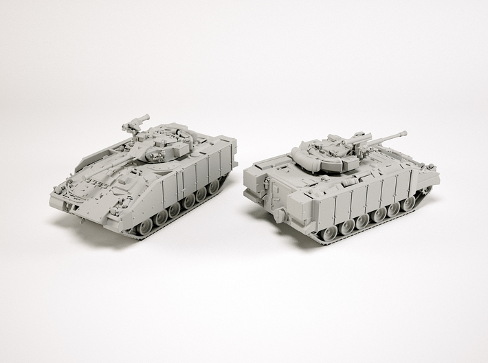 FV510 Warrior IFV Scale: 1:285 3d printed