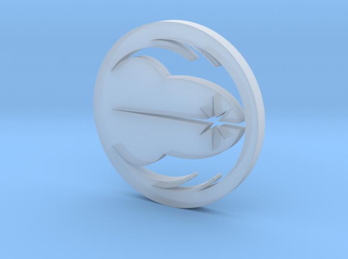 Jedi Symbol Blade Plug Insert 3d printed