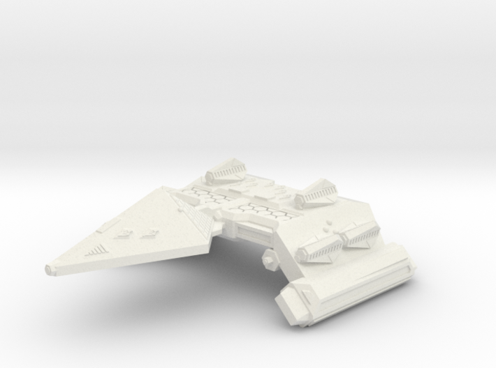 3125 Scale Neo-Tholian Space Control Ship SRZ 3d printed