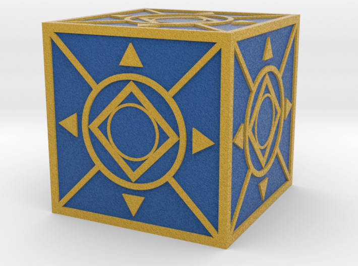 Jedi Holocron 2 (full color) 3d printed