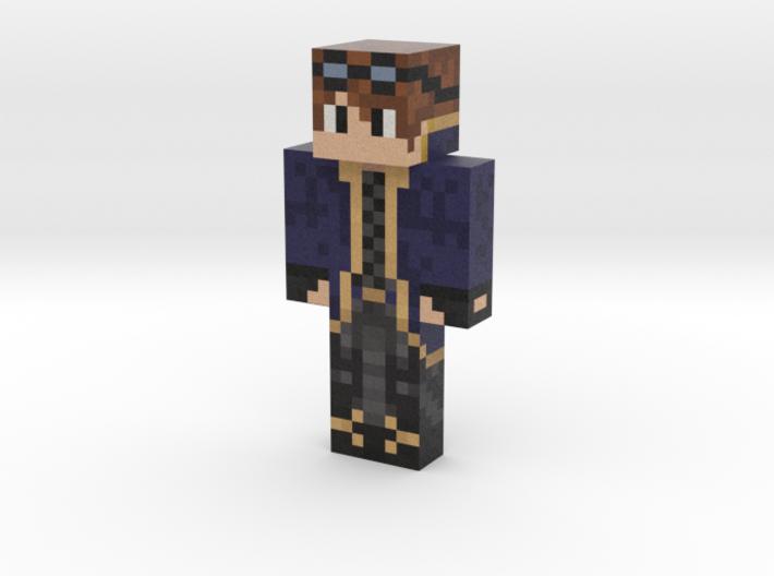 skin   Minecraft toy 3d printed