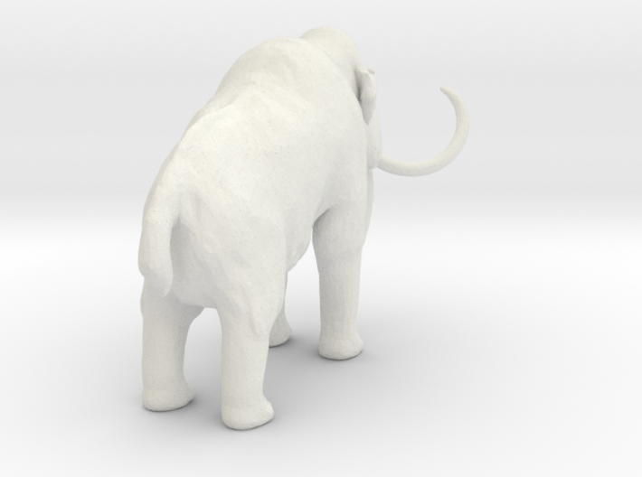 1-72 Woolly Mammoth H 3d printed This is a render not a picture