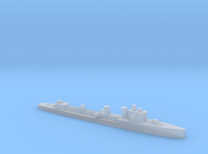 Italian Turbine destroyer WW2 1:2400 3d printed