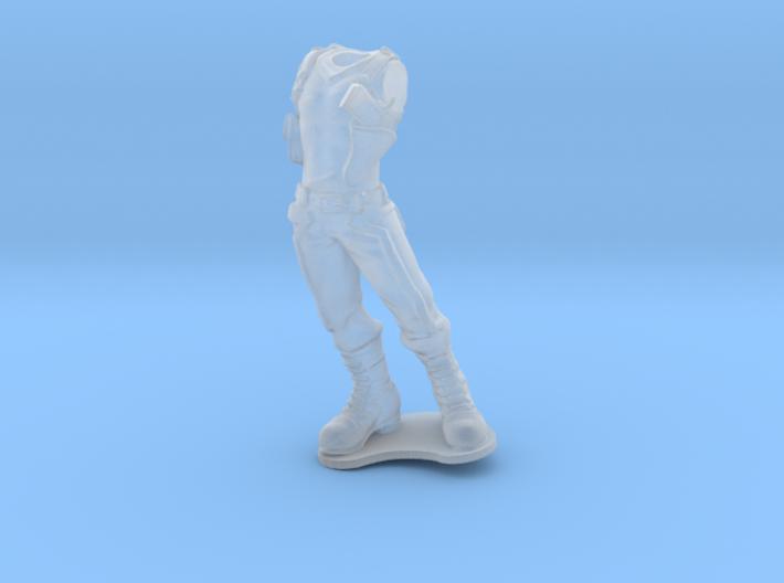 Anthropomorphicmale light armor 1 (HSD miniatures) 3d printed