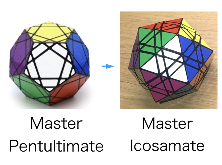 Master Icosamate modified from Master Pentultimate 3d printed