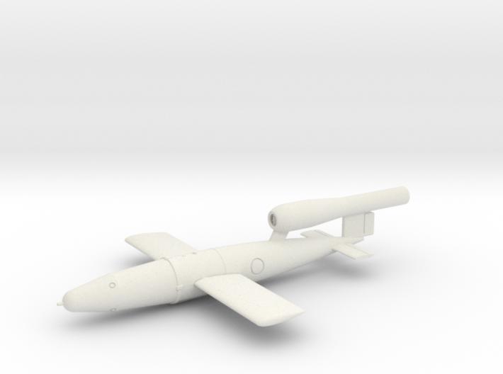 1/72 V1 Flying Bomb 3d printed