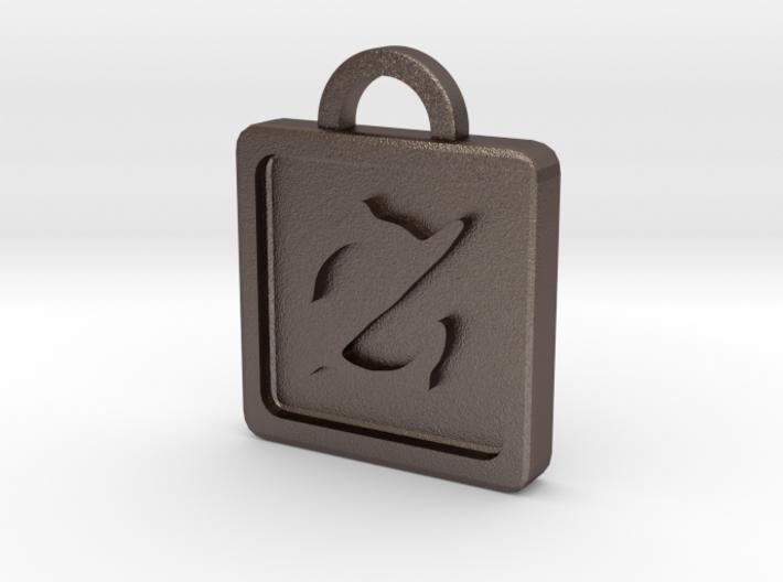 FFXIV Gun Breaker Keychain Pendant 3d printed