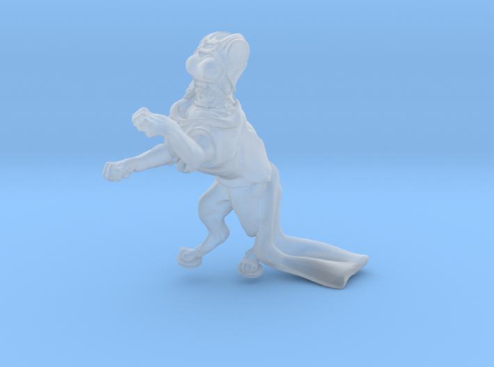Anthropomorphic female light armor cat taur 1(HSD 3d printed