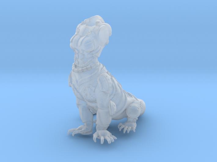 Anthropomorphic female heavy armor lizard taur 1 ( 3d printed