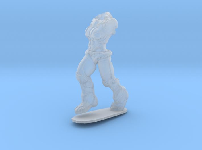 Anthropomorphic female heavy armor 1(HSD miniature 3d printed