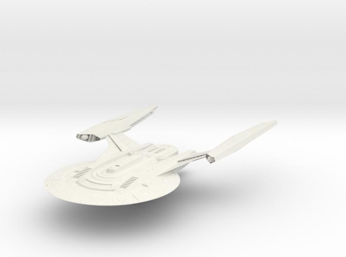 Federation Essex Class III HvyCruiser 3d printed