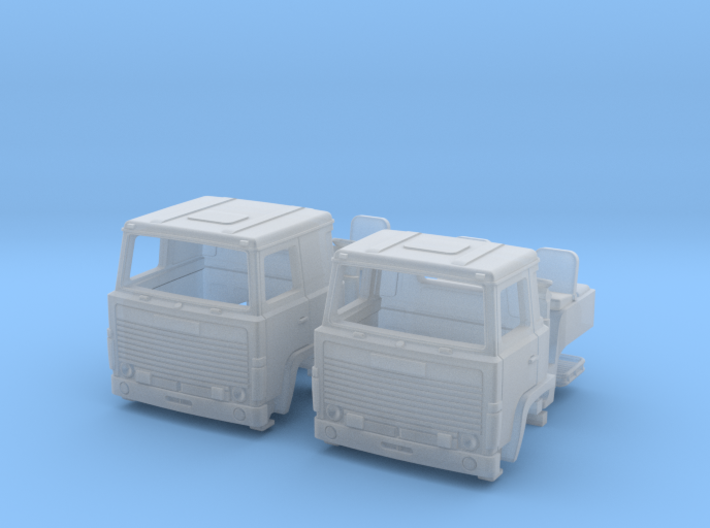 2 spare cabs for Scania 140 in N scale 3d printed