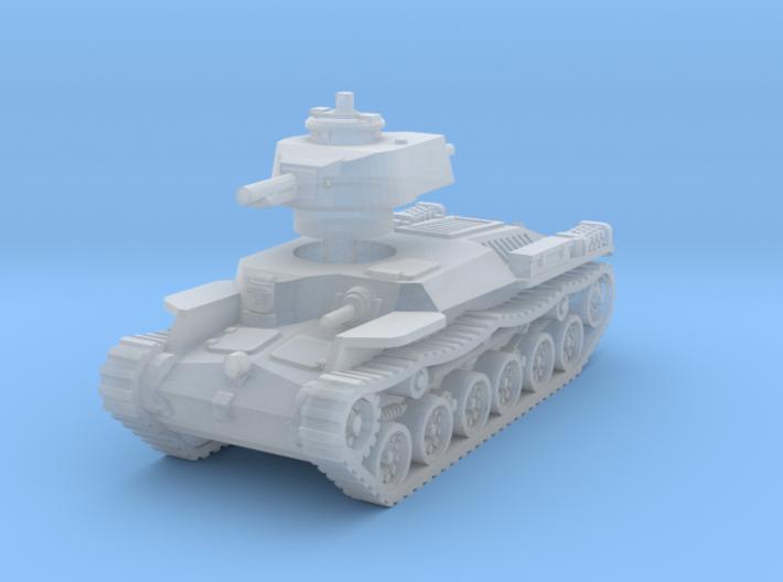 Chi-Ha Tank 1/160 3d printed