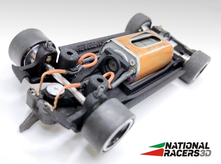 Chassis - Revell NSU TTS (Inline-AiO) 3d printed