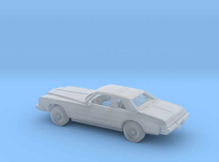 1/160 1976 Buick Riviera Kit 3d printed