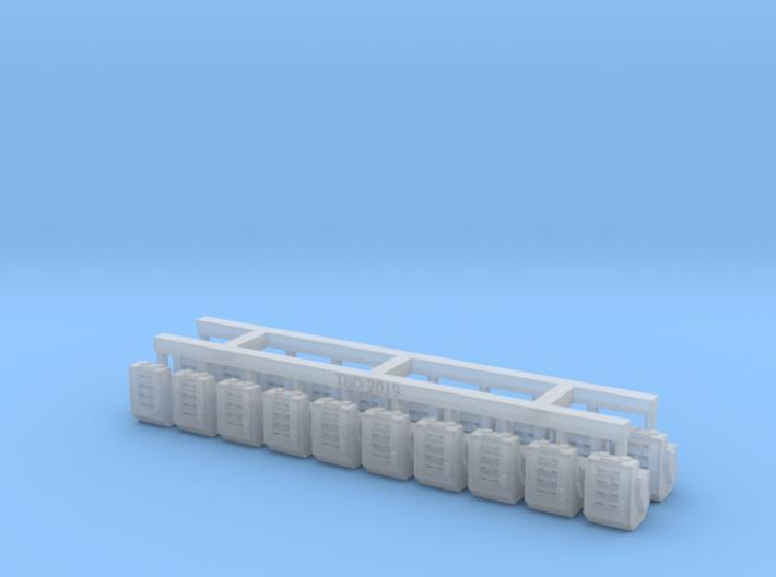 Heavy Bolter Box Mag V1 X20 3d printed