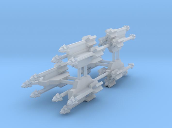 AA-11 Archer 3-Rack 3d printed