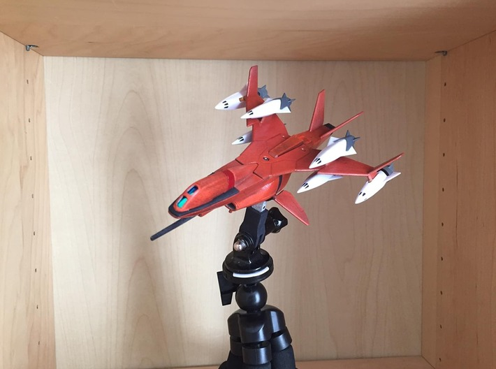 Drone Fighter from Macross Plus (V2) 3d printed