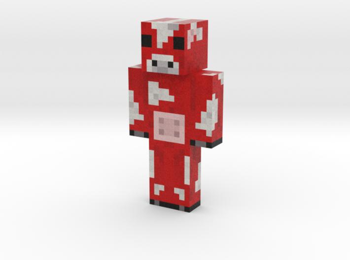 Koolaidcow | Minecraft toy 3d printed
