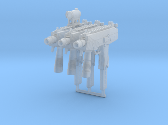 3x 1/10th TMPgun 3d printed