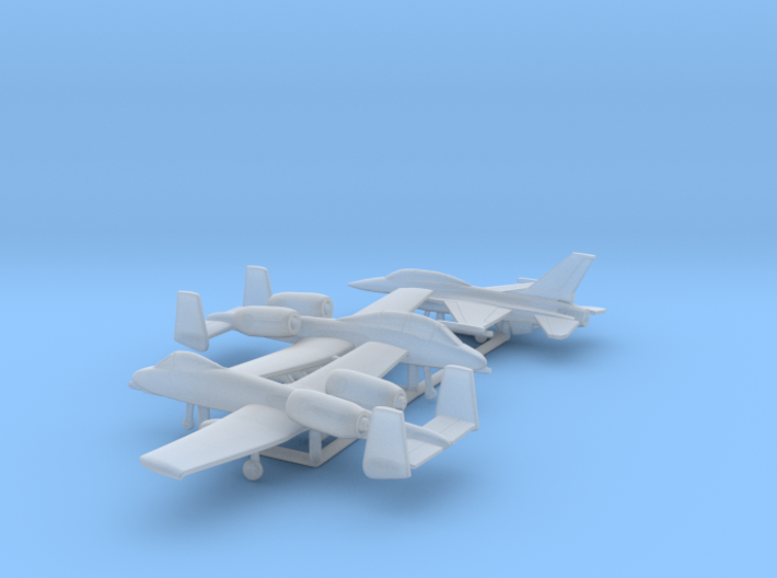 1/400 US Fighters pack 2 3d printed