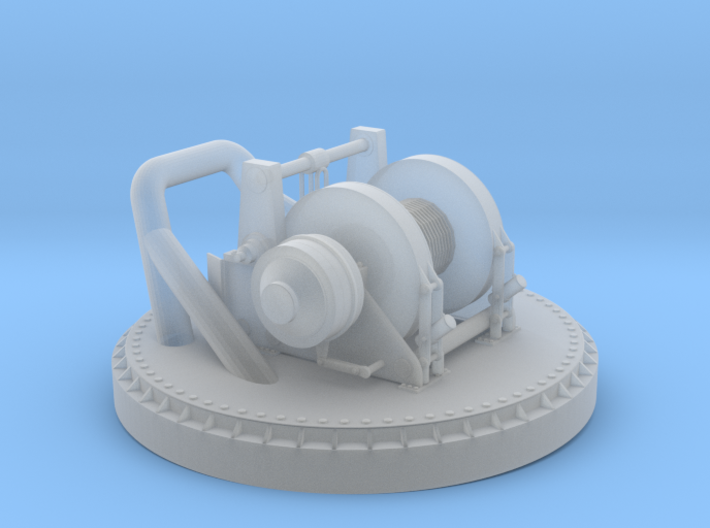1/24 YTB Tugboat Ape Winch 3d printed