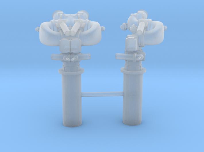 1/24 YTB Tugboat Monitors Set x2 3d printed