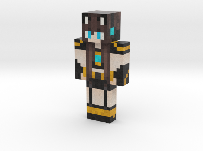SuperMezzyChan | Minecraft toy 3d printed