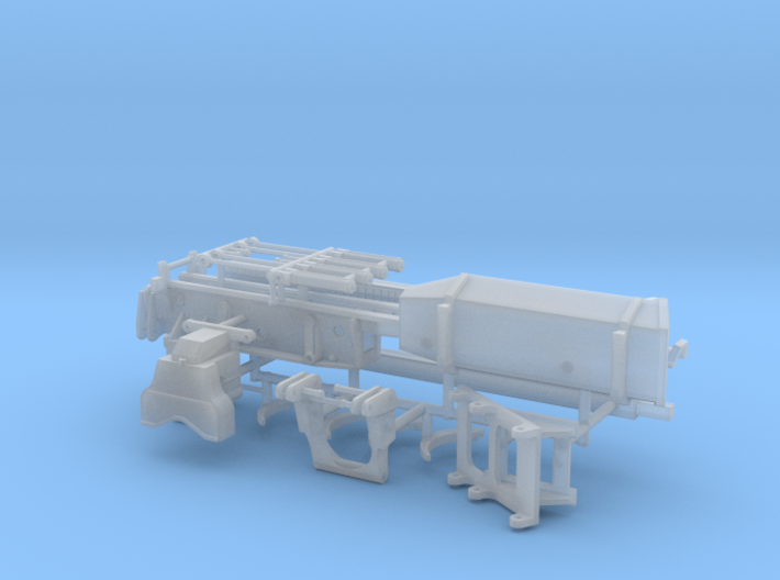 1/87th Pro-Pac type Log Delimber 3d printed